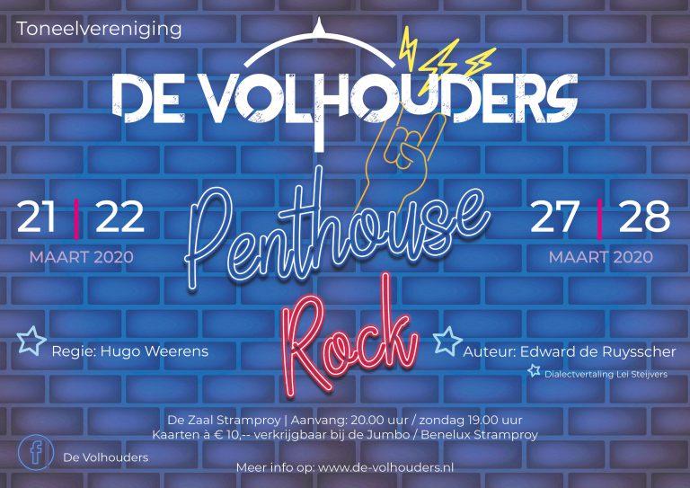 De Volhouders - Penthouse rock affiche